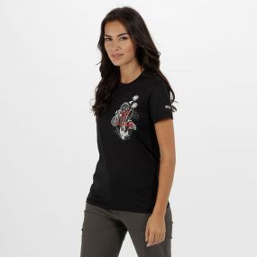 Women's Fingal III Quick Dry T-Shirt Black