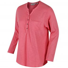 Franzea Coolweave Cotton T-Shirt Desert Rose