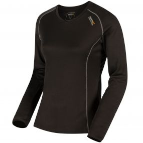 Women's Beckley Overhead Base Layer Top Ash