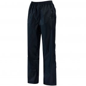 Women's Pack It Breathable Waterproof Packaway Overtrousers Midnight Navy