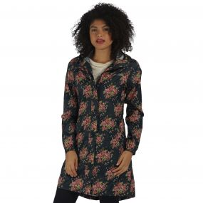 Summer Isolite Parka Navy Floral