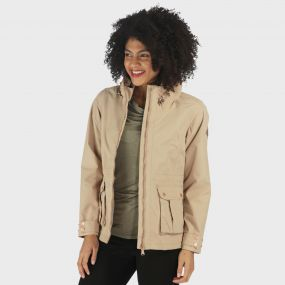 Nardia Lightweight Waterproof Jacket Moccasin