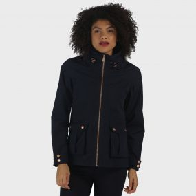 Nardia Lightweight Waterproof Jacket Navy