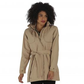 Gracyn Lightweight Waterproof Jacket Moccasin