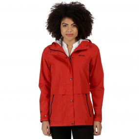 Bayleigh Lightweight Waterproof Jacket Molten Red
