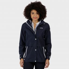 Bayleigh Lightweight Waterproof Jacket Navy