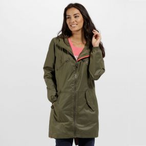 Adeltruda Waterproof Festival Jacket Ivy Green