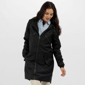 Adeltruda Waterproof Festival Jacket Black
