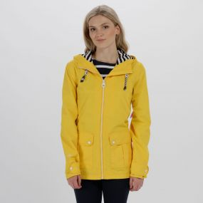 Bayeur II Lightweight Waterproof Hooded Jacket Lifeguard Yellow