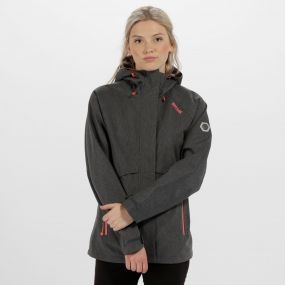 Women's Semita III Waterproof Shell Jacket Seal Grey