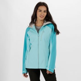 Women's Birchdale Waterproof Hooded Jacket Horizon Aqua