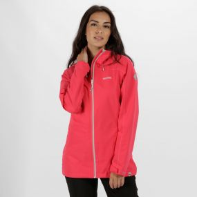 Hamara II Waterproof Shell Jacket Bright Blush