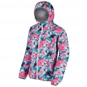 Leera II Ombre Waterproof Shell Jacket Multi Floral Print