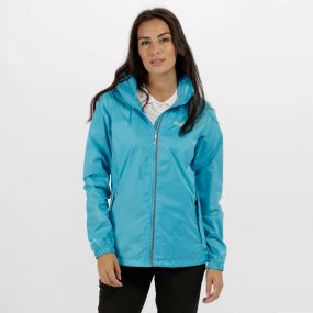 Corinne IV Waterproof Shell Jacket Atoll Blue