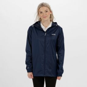 Women's Pack-It Jacket III Waterpoof Packaway Midnight