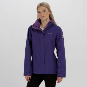 Calyn Stretch II Waterproof Shell Jacket Elderberry