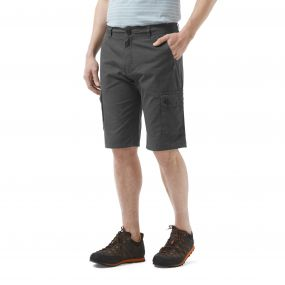 Thallon Shorts Dark Grey