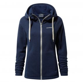 Lindell Hooded Jacket Night Blue