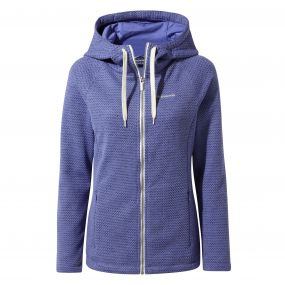 Lindell Hooded Jacket China blue
