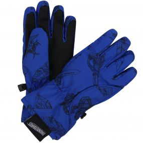 Thunderbirds Are Go Kids Space Station Gloves Oxford Blue
