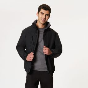 Hillstone Heavy Duty Bomber Jacket Black