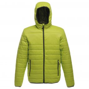 Womens Acadia Warmloft Down Touch Jacket Lime Punch