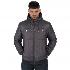 Originals Withington Insulated Jacket Seal Grey