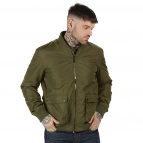 Originals Castlefield Bomber Jacket Dark Khaki