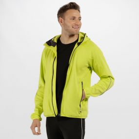 Men's Helsinki Stretch Softshell Jacket Neon Spring