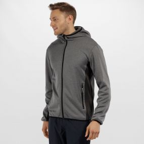 Men's Amsterdam Stretch Reflective Softshell Jacket Seal Grey