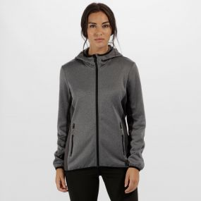 Women's Amsterdam Stretch Reflective Softshell Seal Grey