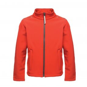 Kids Classmate Softshell Classic Red Seal Grey