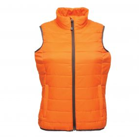 Women's Aerolight Down Touch Bodywarmer Magma Orange