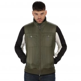 Originals Longsight Lightweight Insulated Gilet Dark Khaki