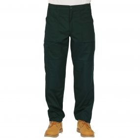 Mens Action Trousers Green