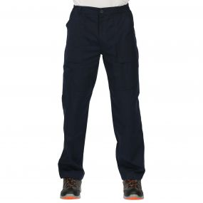 Mens Action Trousers Navy