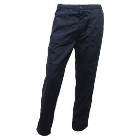 Lined Action Trousers Navy