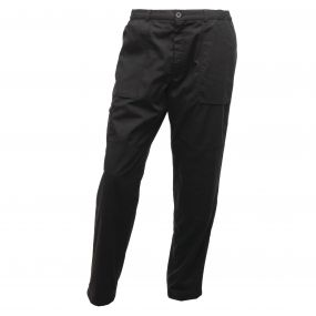 Lined Action Trousers Black