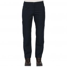 Womens Action Trousers Navy