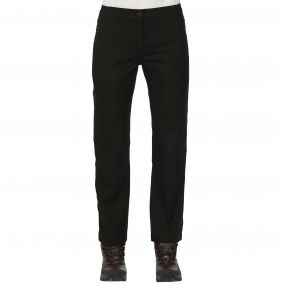 Womens Action Trousers Black