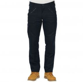 Cullman Multi Zip Trousers Navy