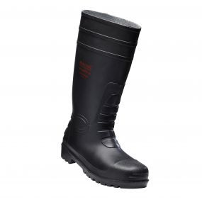 Douglas Safety Wellington Boot Black