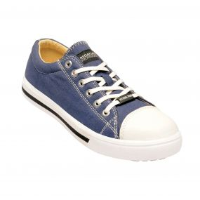 Playoff Steel Toe Cap Safety Sneaker Blue White