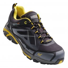 Prime Softshell Safety Trainer Black Yellow