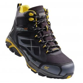 Prime Hiker Boots Black Yellow