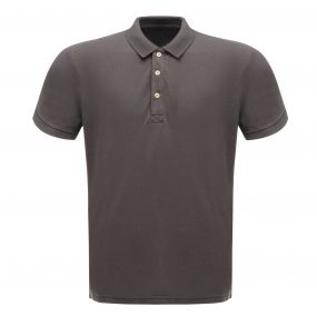 Classic 65/35 Polo Shirt Seal Grey