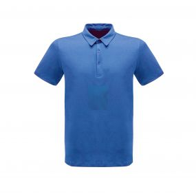 Classic 65/35 Polo Shirt Oxford Blue