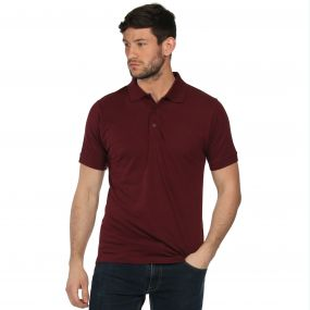 Classic Polo Shirt Burgundy