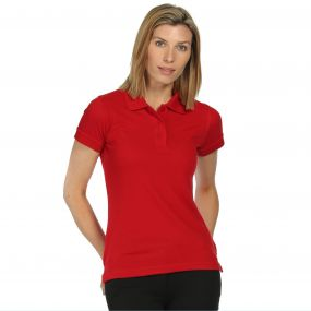 Wmns Classic Polo Classic Red