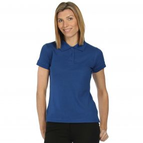 Wmns Classic Polo Royal Blue